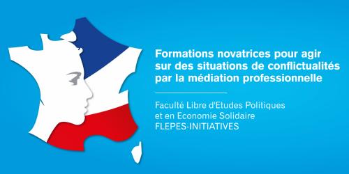 Formations novatrices pour agir sur des situations de conflictualités par la médiation professionnelle